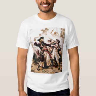 Pirate Blackbeard Captured T-shirt