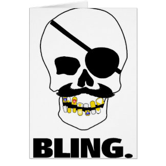 Pirate Bling Card