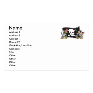 Pirate Blokes Business Card