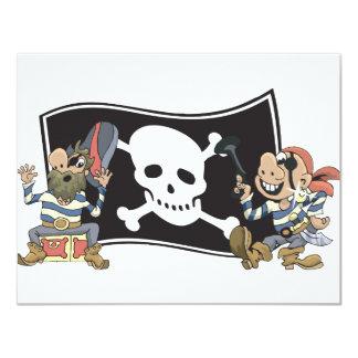 Pirate Blokes Card