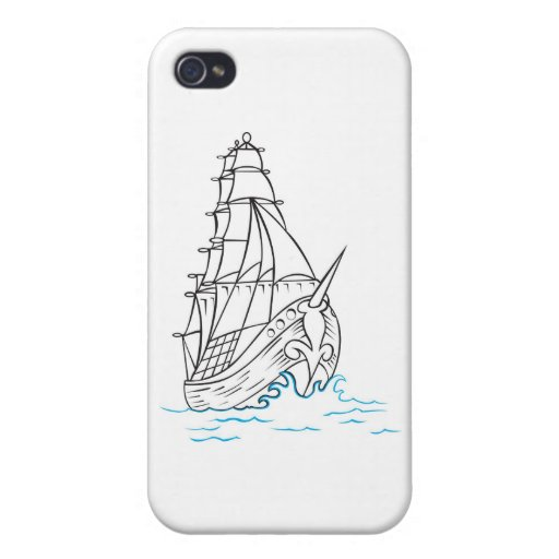 pirate boat cases for iPhone 4
