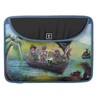 Pirate Booty Beach MacBook Pro Sleeve