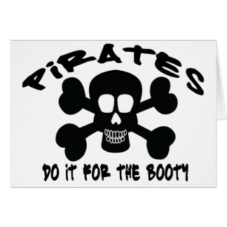 PIRATE BOOTY CARD