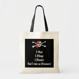 Pirate Booty Shopping Bag