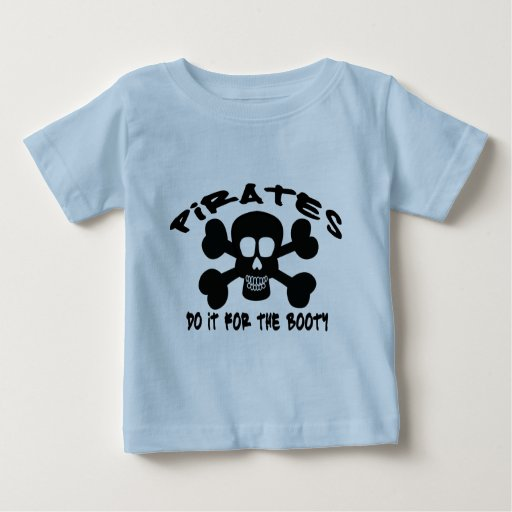 PIRATE BOOTY T SHIRT