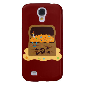 Pirate Booty Treasure Chest Galaxy S4 Covers