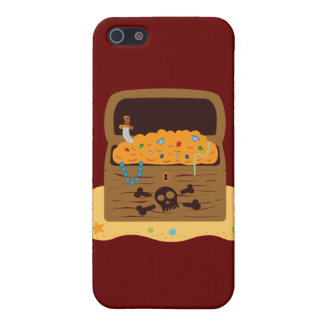 Pirate Booty Treasure Chest Cover For iPhone 5