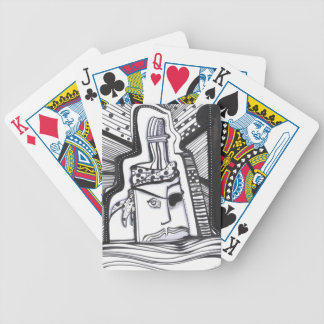 Pirate Bottle Bicycle Playing Cards