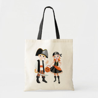 Pirate Boy And Girl Tote Bag