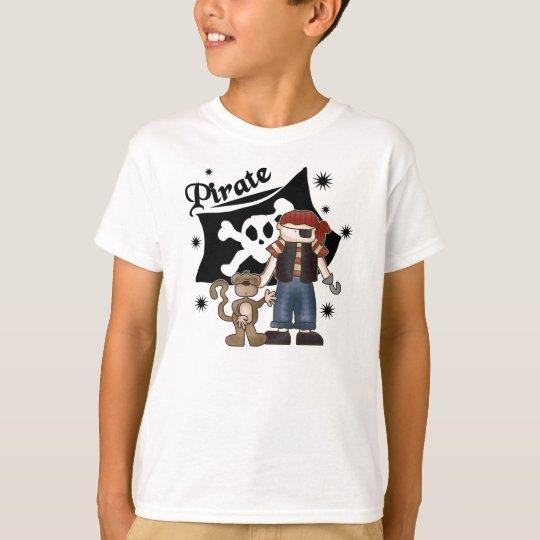 Pirate Boy and Monkey T-Shirt