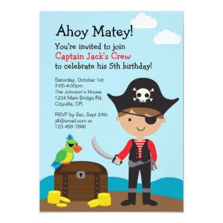 Pirate Boy Invitation