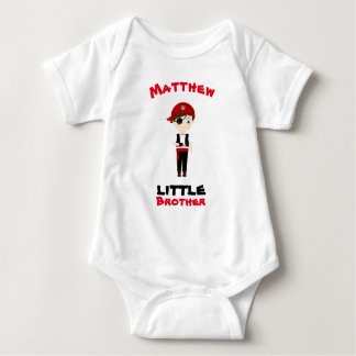 Pirate Boy Little Brother Baby Bodysuit
