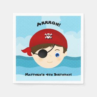 Pirate Boy Napkin