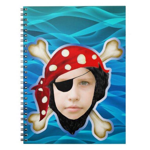 Pirate boy notebook
