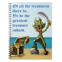 """Pirate Boy"" Notebook"