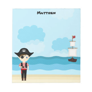 Pirate Boy Notepad