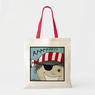 Pirate Boy Rrrrrr Tote Bag