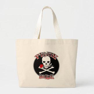 Pirate Bride Tote Bag