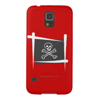 Pirate Brush Flag Case For Galaxy S5