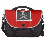 Pirate Brush Flag Commuter Bag