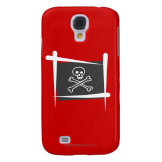 Pirate Brush Flag Galaxy S4 Cover
