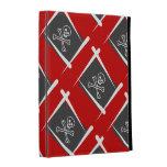 Pirate Brush Flag iPad Folio Case