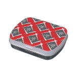 Pirate Brush Flag Jelly Belly Candy Tin
