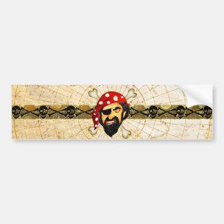 Pirate Bumper Sticker