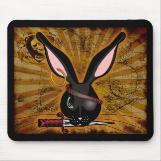 Pirate Bunneh Mouse Pad
