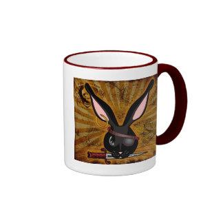 Pirate Bunneh Ringer Mug