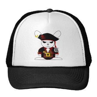Pirate Bunny Bruno Trucker Hat