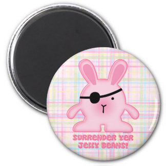 Pirate Bunny Magnet