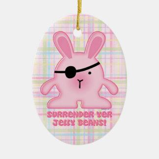 Pirate Bunny Ornament