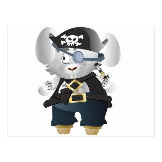 Pirate Bunny Postcard
