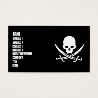 Pirate Business Card
