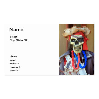 Pirate Double-Sided Standard Business Cards (Pack Of 100)