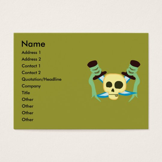 Pirate Business Cards