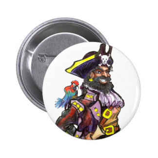 Pirate Pinback Buttons
