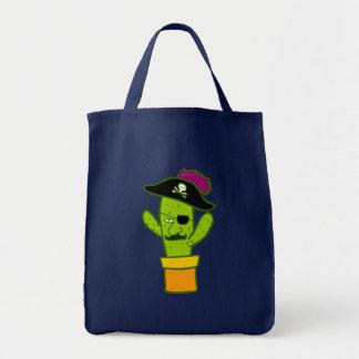 Pirate Cactus Doodle Art Bag