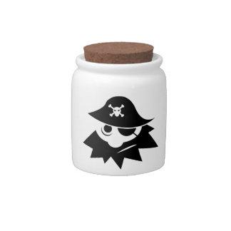 Pirate Candy Jar