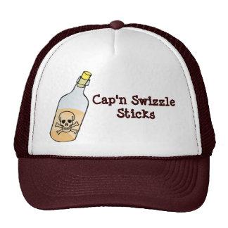 Pirate Cap n Swizzle Sticks Trucker Hats