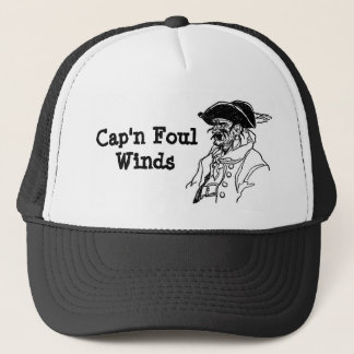 Pirate Cap'n Foul Winds Trucker Hat
