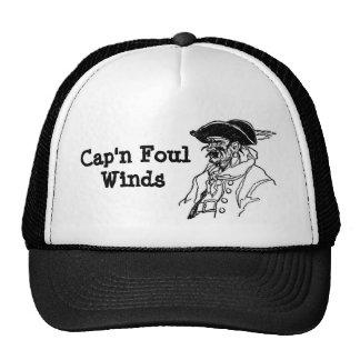 Pirate Cap'n Foul Winds Trucker Hat