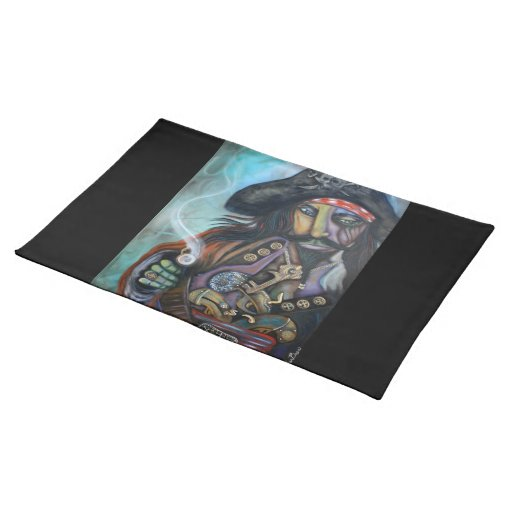 Pirate Captain American MoJo Placemat
