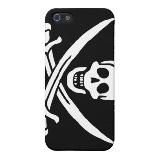 Pirate Captain Calico Jack iPhone SE/5/5s Case