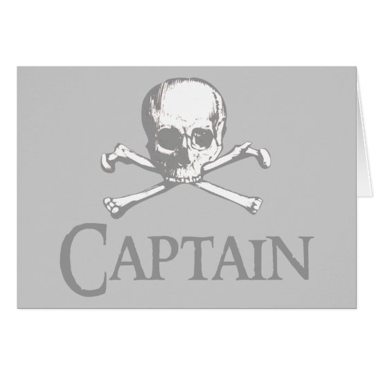 Pirate Captain Card