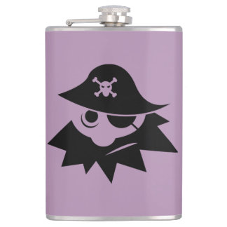 Pirate Captain Flask
