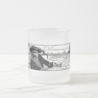 Pirate Captain Frosted Mug