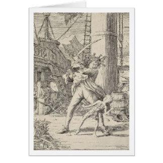 Pirate Captain Hook Card