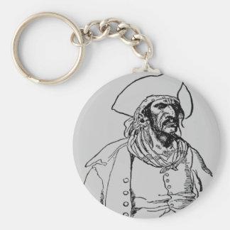 Pirate Captain Keychain